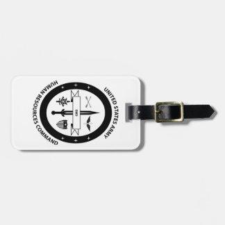 Commande de ressources humaines d'armée - 3 - BW Étiquette À Bagage