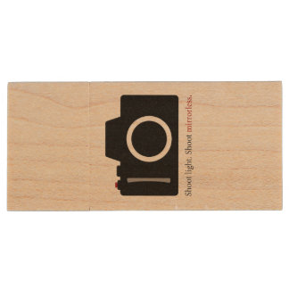 Commande d'instantané d'USB d'appareil-photo de Clé USB 2.0 En Bois