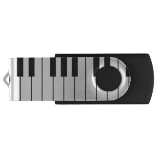Commande d'USB de pivot de clavier de piano Clé USB 2.0 Swivel