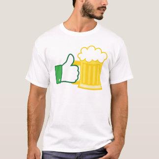 Comme la bière t-shirt