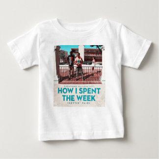 Comment j'ai dépensé la couverture de semaine t-shirt pour bébé
