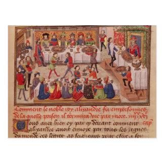Comment le Roi noble Alexandre a été empoisonné Carte Postale