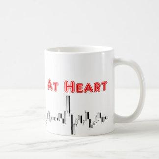 Commerçant à la tasse de coeur