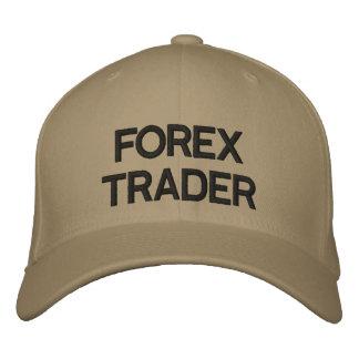 Commerçant de forex pour le casquette de la vie chapeau brodé