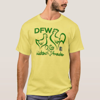 Commerçant de poulet de DFW/graphiques verts T-shirt