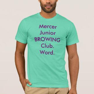 Commerçant de tissus BROWING junior Club.Word. T-shirt