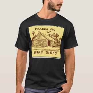 Commerçant Vic chez Hinky Dinks, Oakland, CA, T-shirt