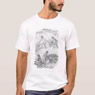 Commerçants de rue, Londres, 1842 T-shirt