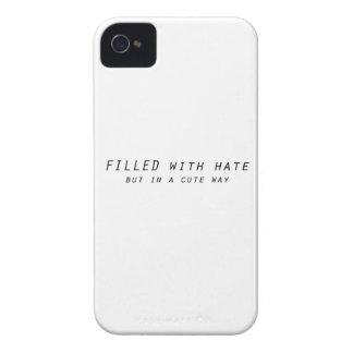 complété avec haine mais une manière mignonne coques iPhone 4