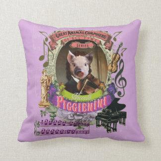 Compositeur animal Paganini de porc mignon de Oreiller