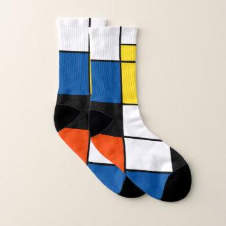 Composition A - art moderne abstrait en Piet