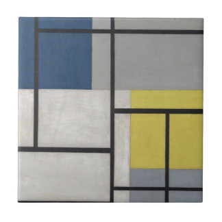 Composition simultanée XXIV par Theo van Doesburg Petit Carreau Carré