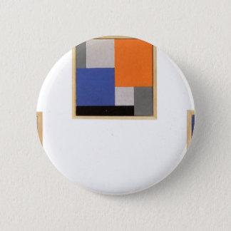 Composition XVIII dans trois parts par Theo Badge Rond 5 Cm