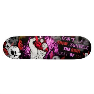 Compression d'âme skateboards customisés