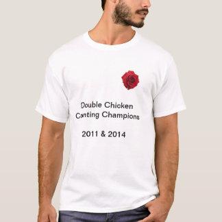 Compteurs de poulet de rugby de l'Angleterre par T-shirt