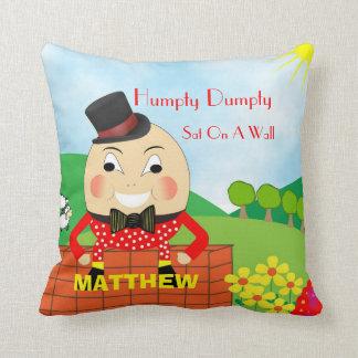 Comptine mignonne d'enfants Humpty Dumpty Coussin
