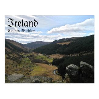 Comté carte postale de Wicklow, Irlande