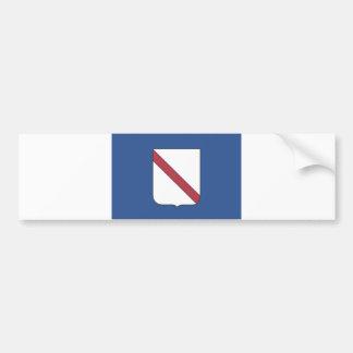 Comté de l Italie de drapeau de région de Campanie Adhésif Pour Voiture