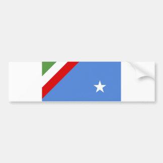 comté de l Italie de drapeau de région de républiq Adhésifs Pour Voiture