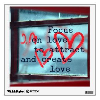 Concentrez sur l'amour pour attirer et créer