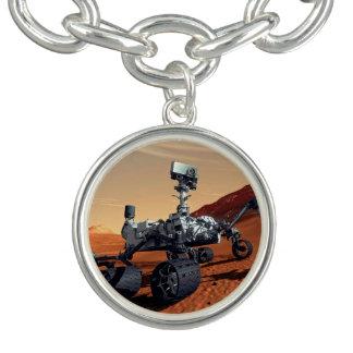 Concept d'artiste de Rover de curiosité de la NASA Bracelet Avec Breloques