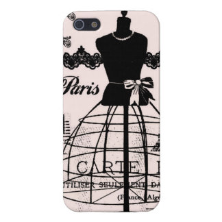 Concepteur Girly de Paris inspiré iPhone 5 Case