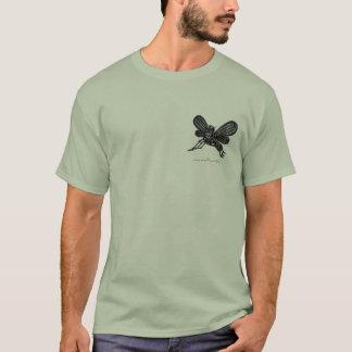 Conception abstraite de T-shirt de l'industrie