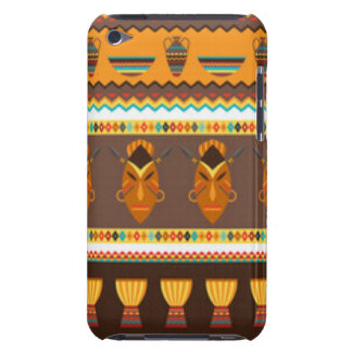 Conception africaine d'impression de motif de coque Case-Mate iPod touch