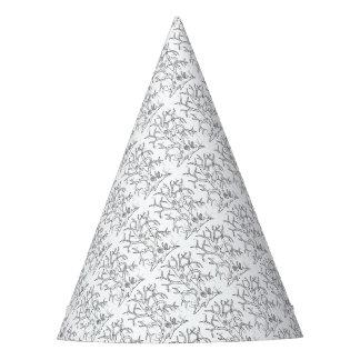 Conception arbre de mascarade de schéma chapeaux de fètes