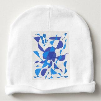 conception bleue bonnet pour bébé