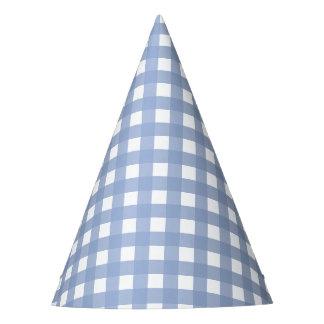 Conception bleue de sérénité bleue de guingan chapeaux de fètes