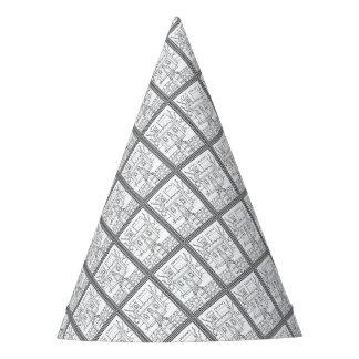 Conception château de mascarade de schéma chapeaux de fètes