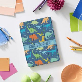 Conception colorée de dinosaures à personnaliser protection iPad pro