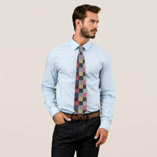 conception colorée de style de tissu vintage de cravate