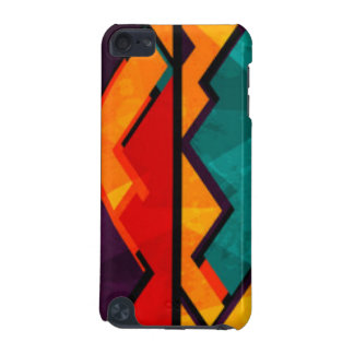 Conception colorée multi africaine d'impression de coque iPod touch 5G