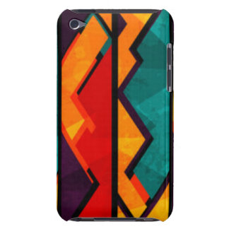 Conception colorée multi africaine d'impression de coque iPod touch Case-Mate