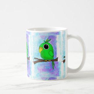 Conception colorée originale d'oiseau mug