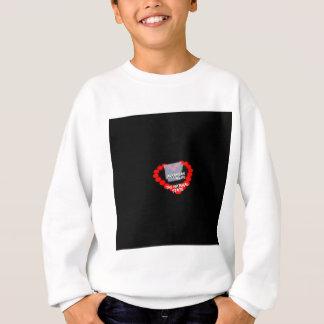 Conception de coeur de bougie pour l'état de sweatshirt