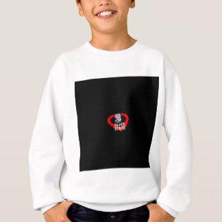 Conception de coeur de bougie pour l'état du sweatshirt