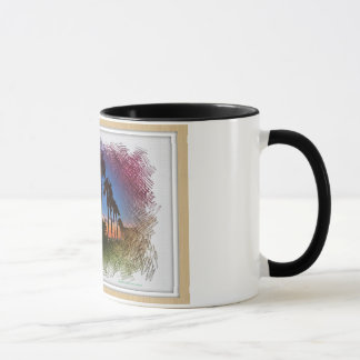 Conception de coucher du soleil, Carlsbad la Mug