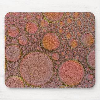 Conception de cuivre de bulle tapis de souris