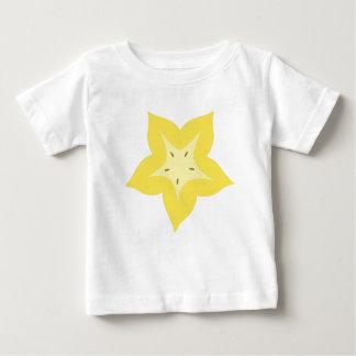 conception de fruit d'étoile mignonne t-shirt pour bébé