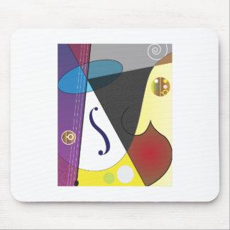 Conception de musique classique tapis de souris