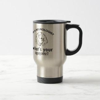 conception de neurologue mug de voyage