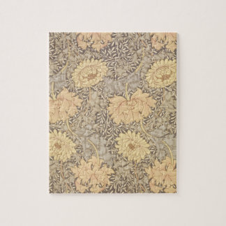 """Conception de papier peint de """"chrysanthème"""", 1876 puzzle"""