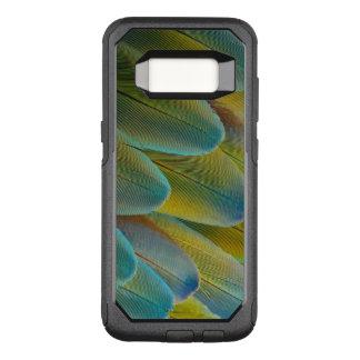 Conception de plume d'ara de Camelot Coque Samsung Galaxy S8 Par OtterBox Commuter
