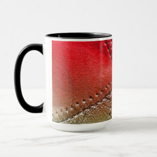 "conception de regard de ""cuir"" sur une tasse de"
