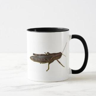 Conception de sauterelle mug