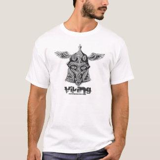 Conception de T-shirt de crâne de Viking
