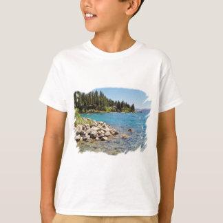 Conception de T-shirt du lac Tahoe